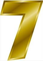 zahl 7